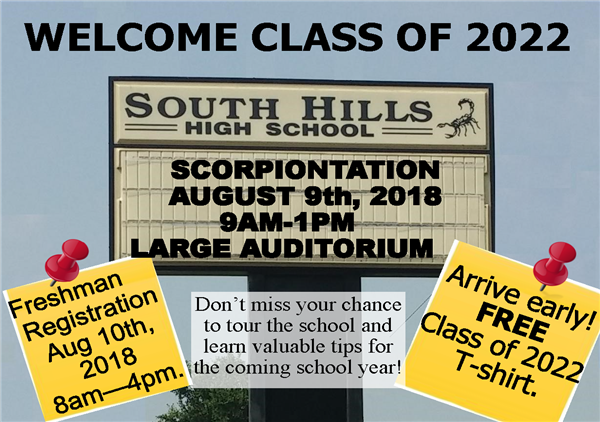 Freshman Orientation and Registration