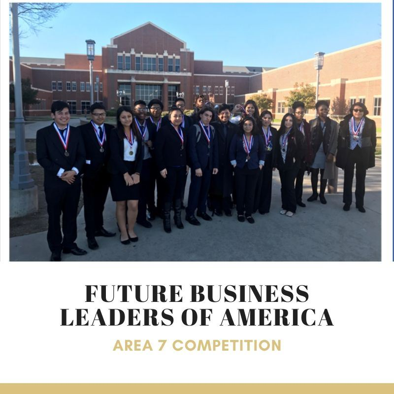 FBLA - Area 7 Competition Winners