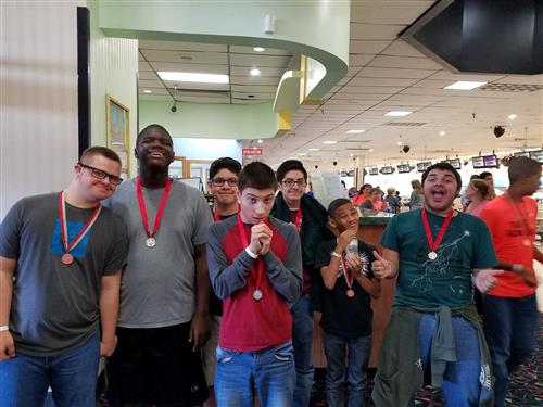 Congratulations to the Special Olympics Bowling Team