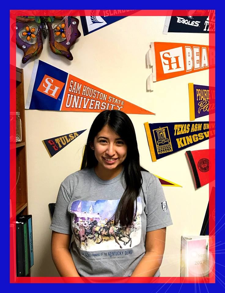 Senior Student of the Month - Laura Nunez