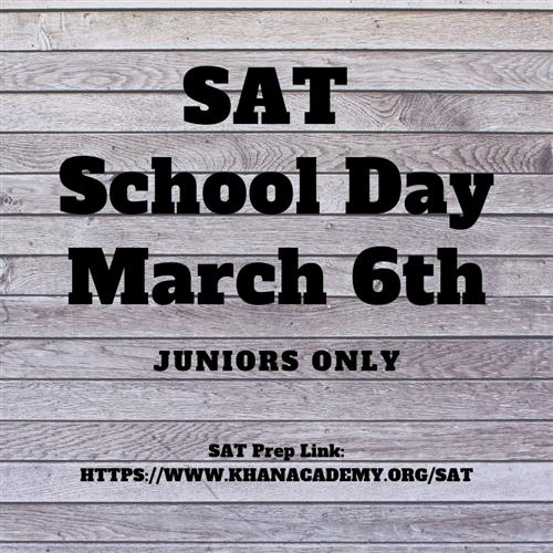 Juniors, Be Prepared for the SAT