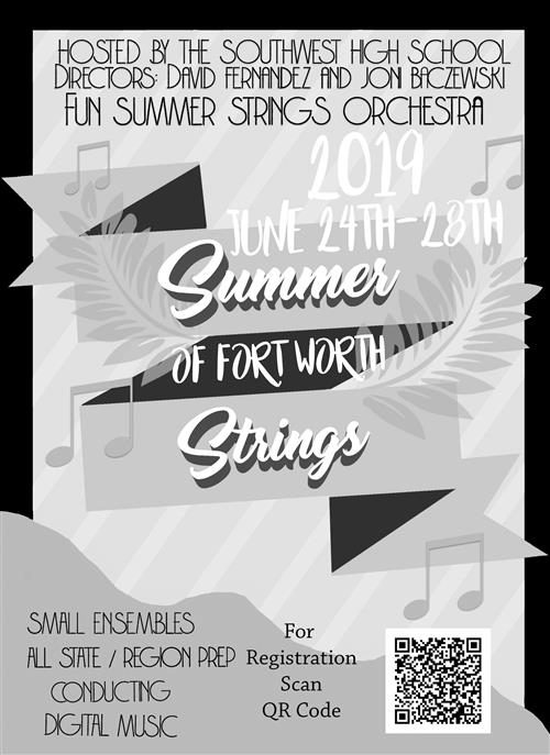 Southwest Orchestra Summer String Camp, June 24-28