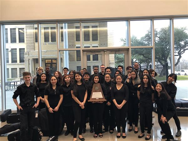 Raider Orchestra earns a Sweepstakes at UIL Competition