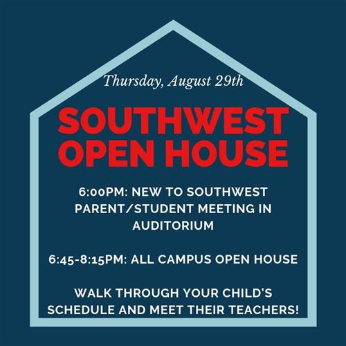 Open House / New to Southwest Meeting