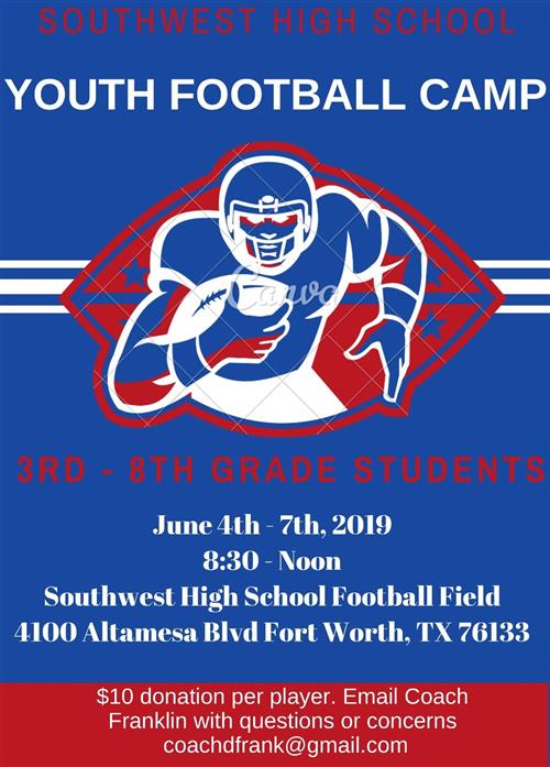 Youth Football Summer Camp