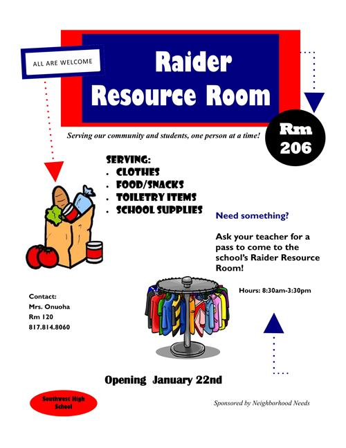 raider resource room