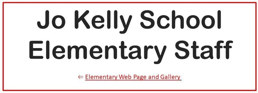 Go To Elementary Web Page and Gallery