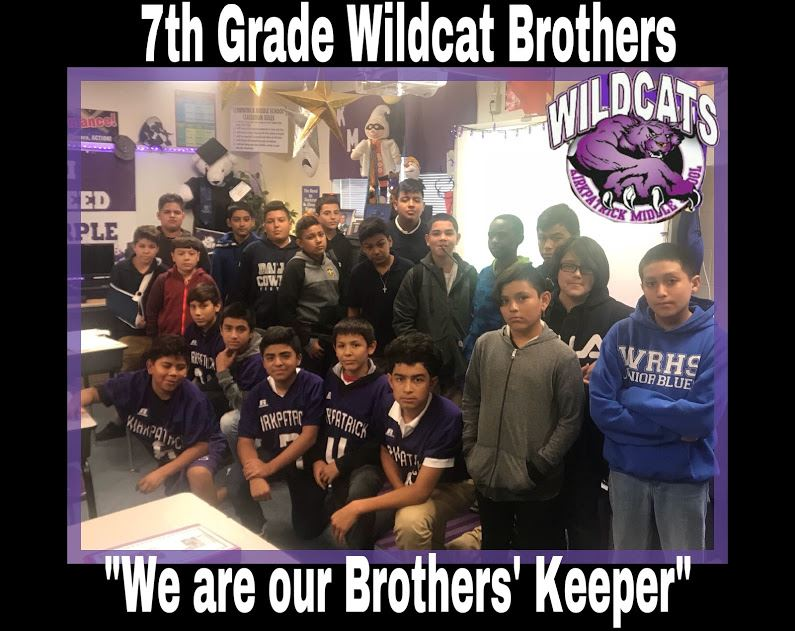 7th grade Wildcat Brothers