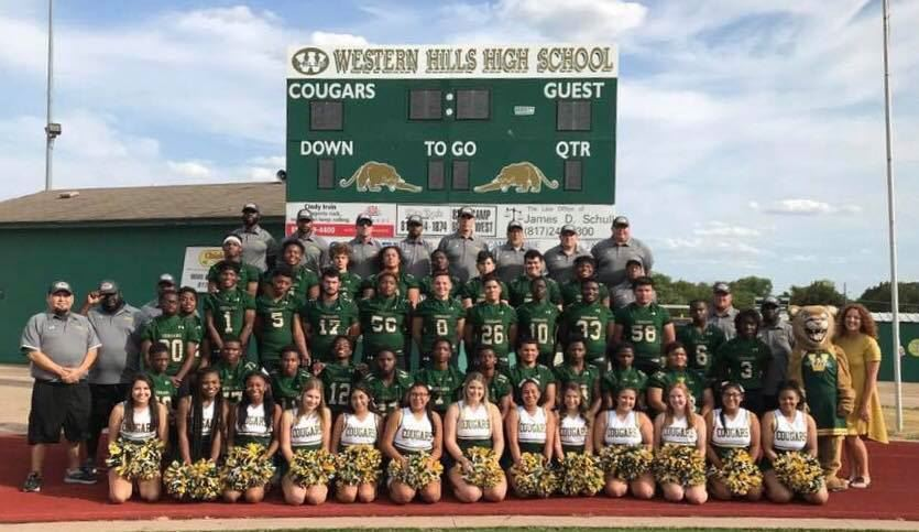 2018 Varsity Football & Cheerleaders