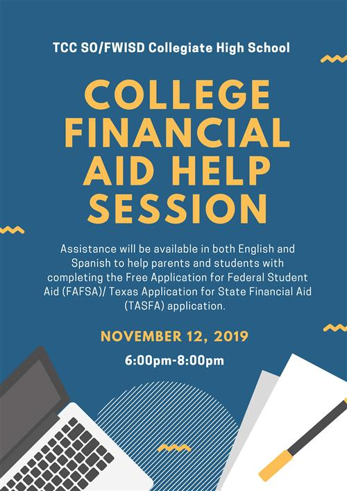 Do You Need Assistance Filling Out your FAFSA/TASFA Application?