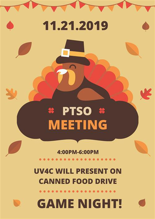 PTSO Meeting & Game Night