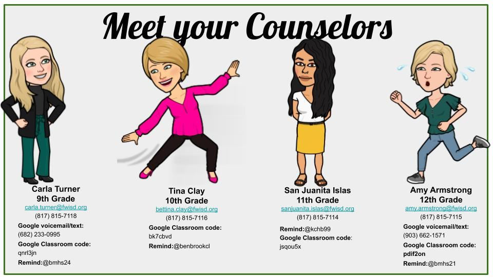 Meet Your Counselors