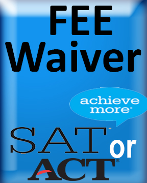 Waiver SAT ACT image