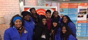 Tamron Hall Poly Cheer Alum from the Today show!