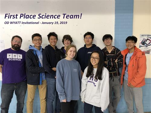 PHS Clubs / Science Club