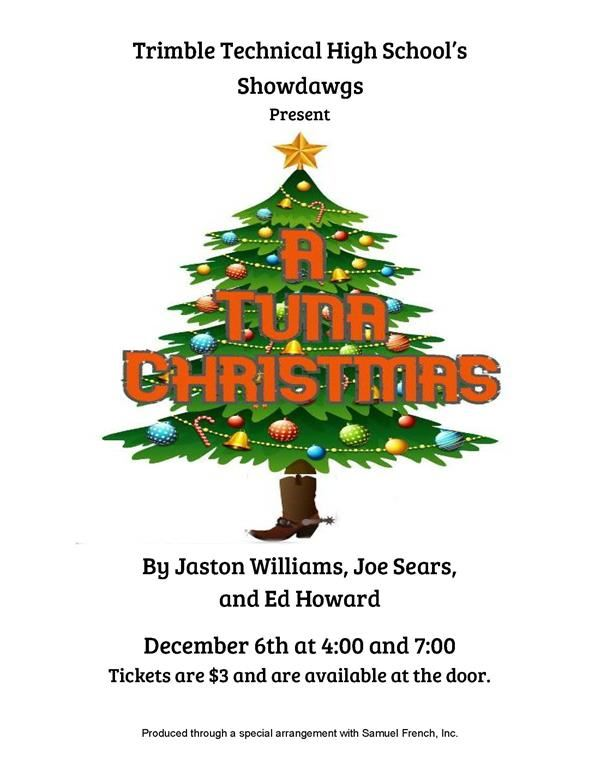 "TTHS Theatre Arts Presents ""A Tuna Christmas"
