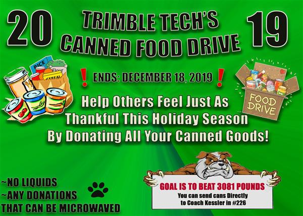 poster for canned foods
