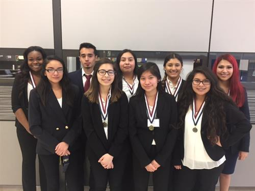 HOSA EMT Students Advance to State Competition!