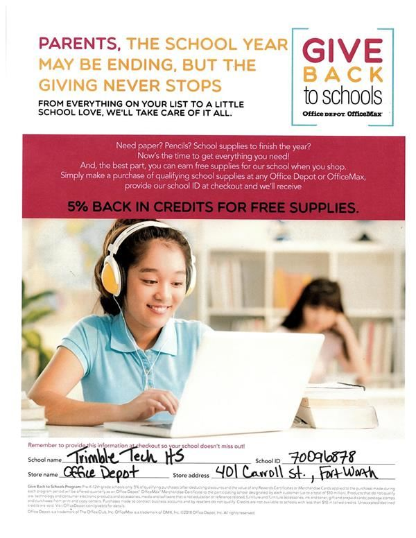 Shop Office Depot for Rewards