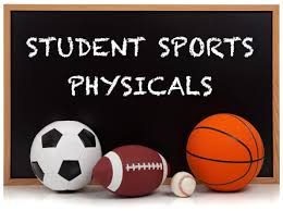 Free Athletic Physicals--FORM REQUIRED