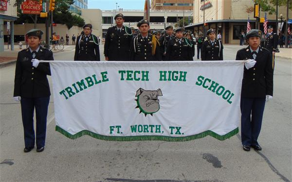 JROTC Marches in Veterans Day Parade