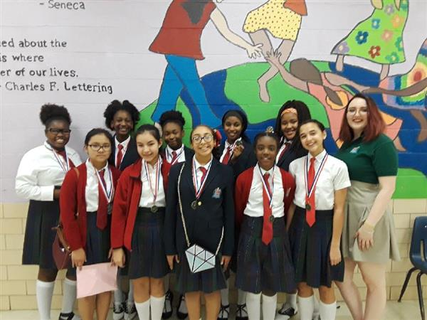 YWLA Choir Scores Big at FWISD Solo/Ensemble Contest