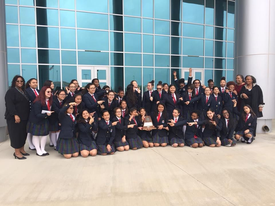 The YWLA MS Choir earned Sweepstakes!