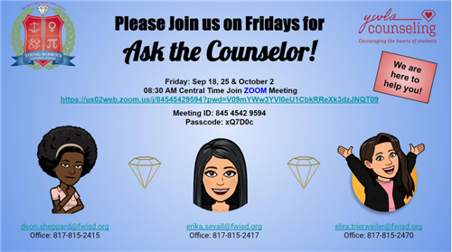 counselor flyer