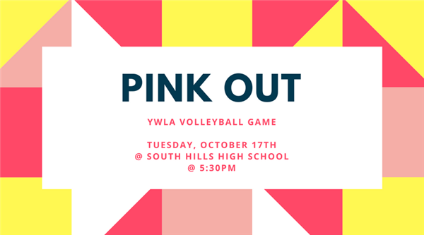 Pink Out 2017 Volleyball Game