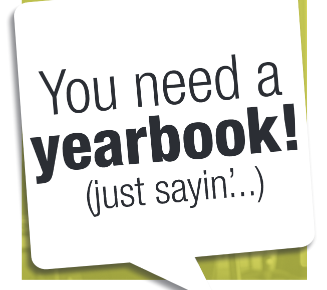 Get Your Yearbook by 2/23!