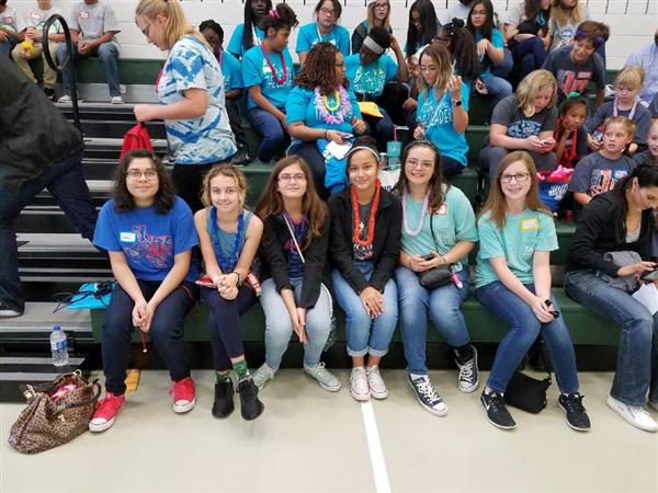 GEMS at the District 3 TASC Middle Level Conference