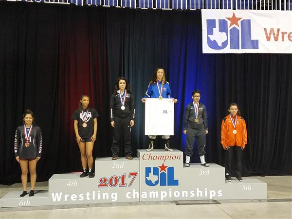 Jacqueline state champ