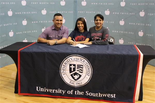 Savannah Villegas National Signing Day