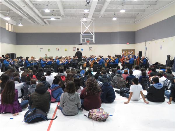 Visit from Fort Worth Symphony Orchestra