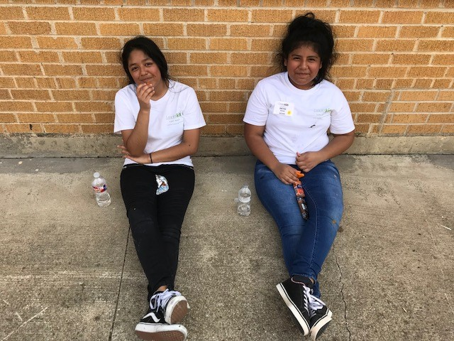 Leaderkids finish Community Service Project
