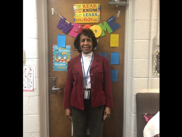 Congratulations, Ms. Hutchison!  Staff Person of the Month