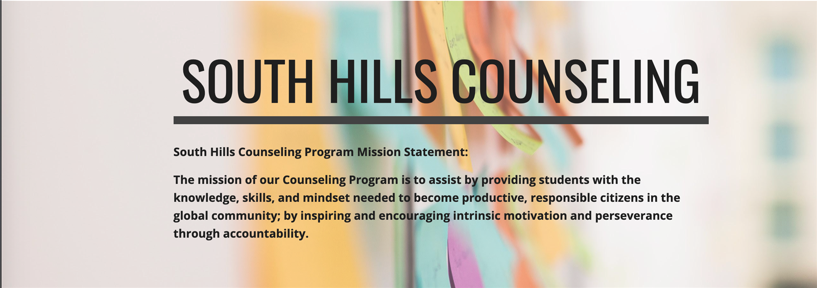 SHHS Counseling