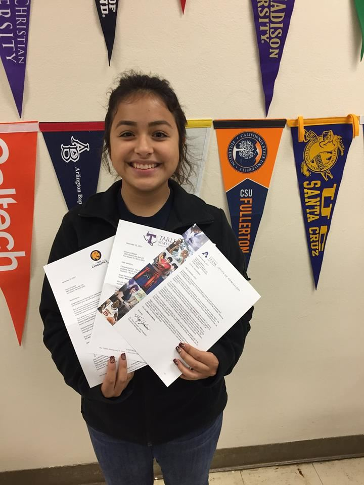 America Salazar - Texas A&M Commerce, Tarleton State University and University of Texas at Arlington