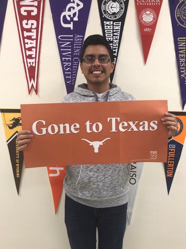 Raul DeLeon - UT Austin, UNT and the University of Mary Hardin Baylor