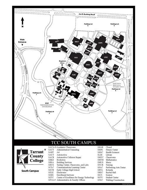 TCC South Campus FWISD Early Collegiate High School MAP