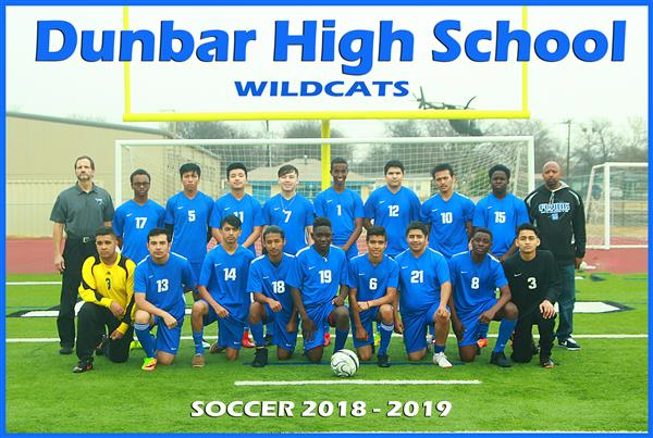 2018-2019 DHS Soccer Team Photo