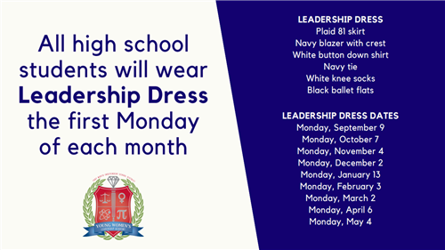 leadership dress