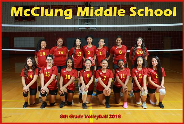 8th Grade Girls Volleyball