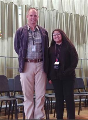 KMS Spelling Bee Winner Christiana Cerda!
