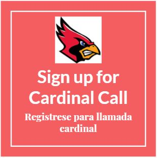 CARDINAL CALL SIGN-UP