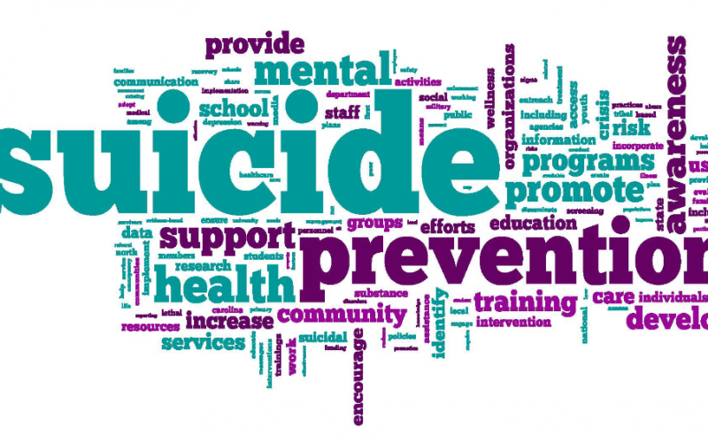 Suicide Prevention in Classes This Week!