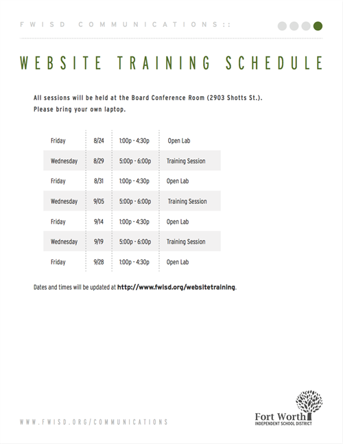 websitetraining