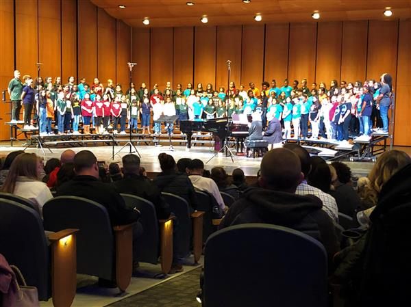 Morningside Students Participate In District Honors Choir