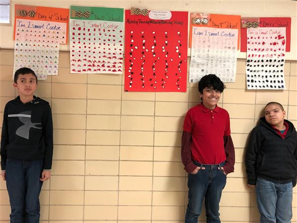 Morningside TAP and LINC Students Celebrate 100 Days of School