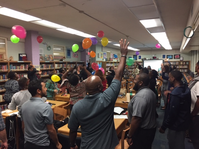 Morningside Teachers Beat Back Stress